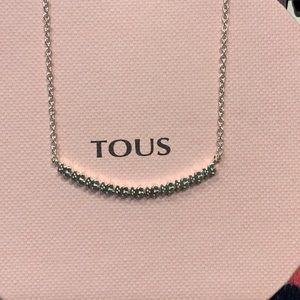 Tous Straight Silver Necklace